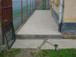 Fertigstellung des Grundstückteils